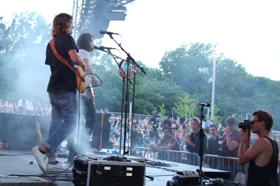 WU Sommerfest Bühne
